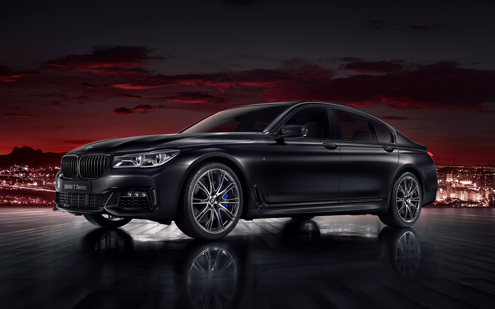 BMW Series 7 —  Black Fire Edition