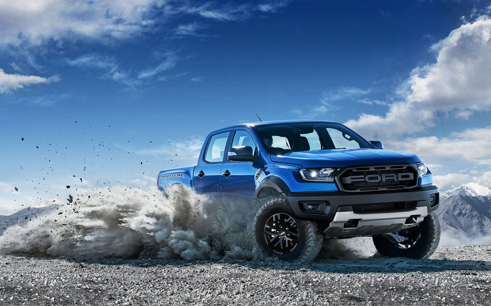 Ford — First Ever Ranger Raptor